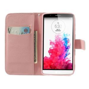Ultra motive peněženkové pouzdro na LG G3 - love - 5