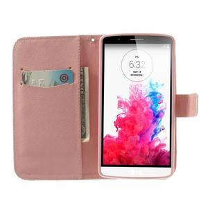 Ultra motive peněženkové pouzdro na LG G3 - sovy na větvi - 5