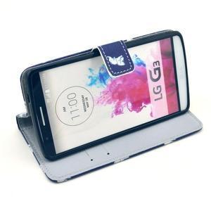 Obrázkové pouzdro na mobil LG G3 - sloníci - 5