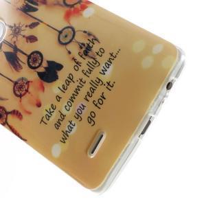 Gelový kryt na mobil LG G3 - lapače snů - 5
