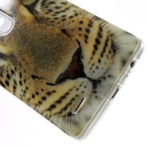 Gelový kryt na mobil LG G3 - leopard - 5