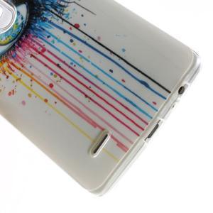 Gelový kryt na mobil LG G3 - barevné oko - 5
