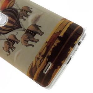 Gelový kryt na mobil LG G3 - sloni - 5
