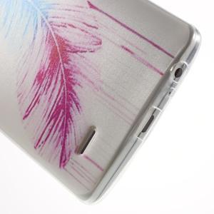 Silks gelový obal na mobil LG G3 - peříčko - 5