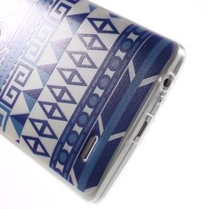 Silks gelový obal na mobil LG G3 - geo tvary - 5