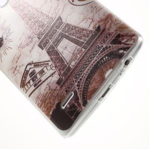 Silks gelový obal na mobil LG G3 - Eliffelova věž - 5