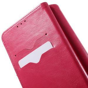 Patrové peněženkové pouzdro na mobil LG G3 - rose - 5