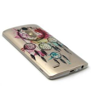 Průhledný gelový obal na LG G3 - lapač snů - 5