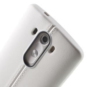 Lines gelový kryt na mobil LG G3 - bílý - 5