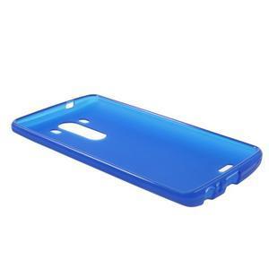 Matný gelový obal na LG G3 - tmavěmodrý - 5