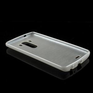 Brush gelový obal na LG G3 - bílý - 5