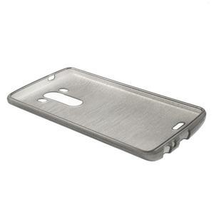 Brush gelový obal na LG G3 - šedý - 5