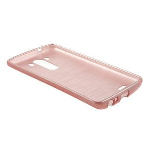 Brush gelový obal na LG G3 - růžový - 5