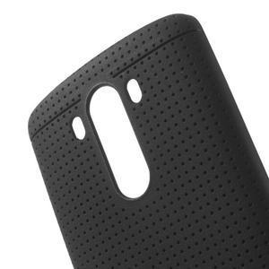 Silks gelový obal na LG G3 - černý - 5