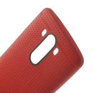 Silks gelový obal na LG G3 - červený - 5
