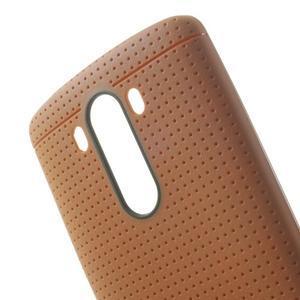 Silks gelový obal na LG G3 - oranžový - 5