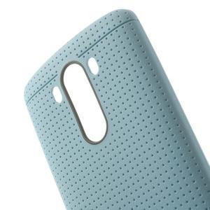 Silks gelový obal na LG G3 - světlemodrý - 5