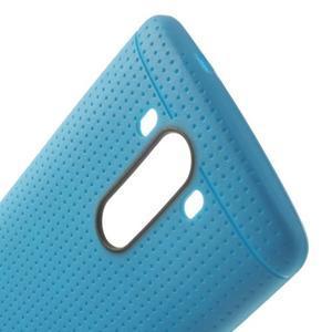 Silks gelový obal na LG G3 - modrý - 5