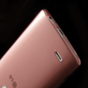 Ultratenký slim obal na mobil LG G3 - červený - 5