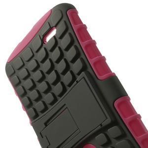 Outdoor odolný obal na mobil LG G3 - rose - 5