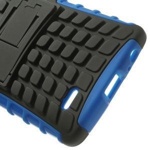 Outdoor odolný obal na mobil LG G3 - modrý - 5