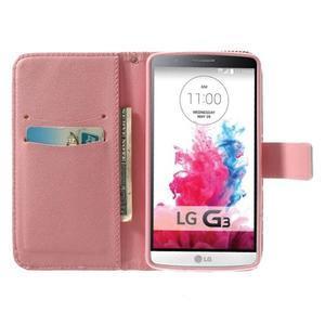 Obrázkové pouzdro na mobil LG G3 - zamilovaný medvídek - 5