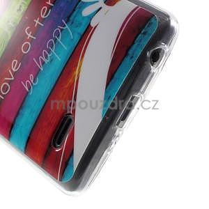Gelový obal na LG G3 s - barevná cesta - 5