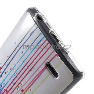 Gelový obal na LG G3 s - oko barev - 5