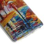 Ultra slim 0.6 mm gelový obal LG G3 s - podzimní procházka - 5/6