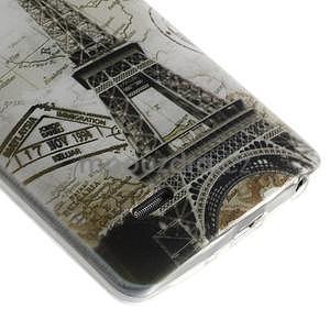 Ultra slim 0.6 mm gelový obal LG G3 s - Eiffelova věž - 5