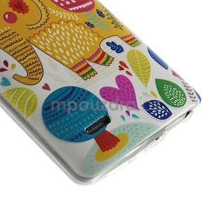 Ultra slim 0.6 mm gelový obal LG G3 s - sloník - 5
