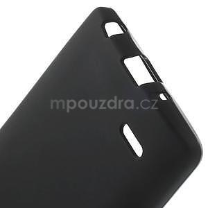 Černý matný gelový kryt LG G3 s - 5