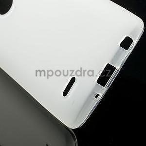 Transparentní matný gelový kryt LG G3 s - 5