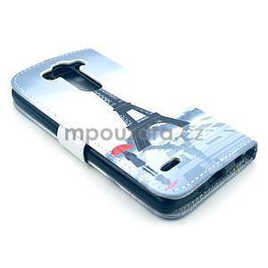 Peněženkové pouzdro na LG G3 s -  Eiffelova věž - 5