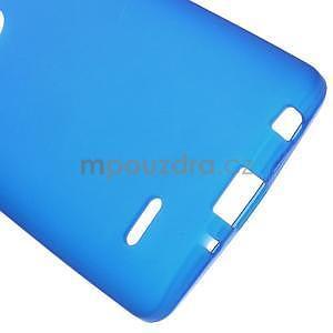 Modrý matný gelový kryt LG G3 s - 5