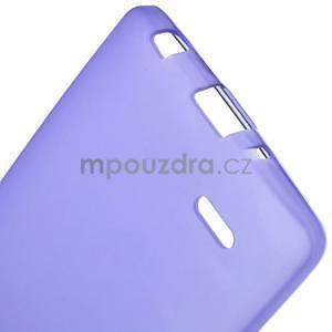Fialový matný gelový kryt LG G3 s - 5