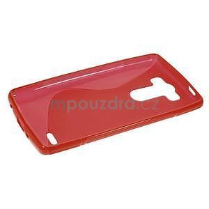 S-line červený gelový obal na LG G3 s - 5