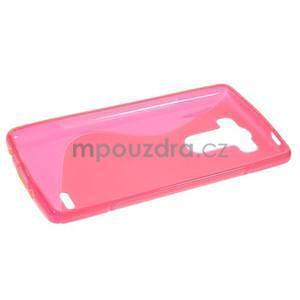 S-line rose gelový obal na LG G3 s - 5