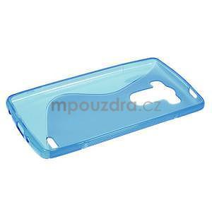 S-line modrý gelový obal na LG G3 s - 5