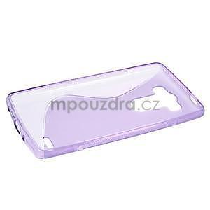 S-line fialový gelový obal na LG G3 s - 5