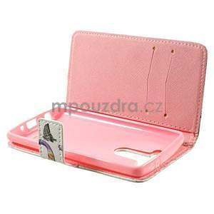 Zapínací peněženkové pouzdro pro LG G3 s - love - 5
