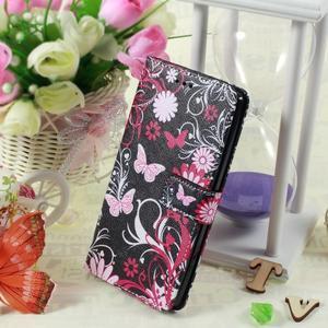Call peněženkové pouzdro na LG G4 - kouzelní motýlci - 5