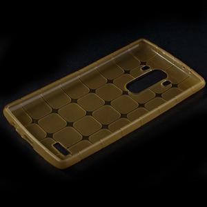 Square gelový obal na LG G4 - champagne - 5