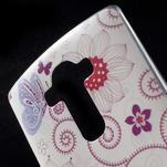 Softy gelový obal na mobil LG G4 - motýlek - 5/5
