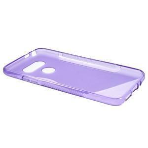 S-line gelový obal na mobil LG G5 - fialový - 5