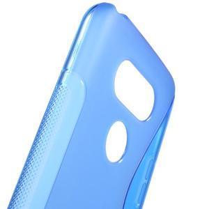 S-line gelový obal na mobil LG G5 - modrý - 5