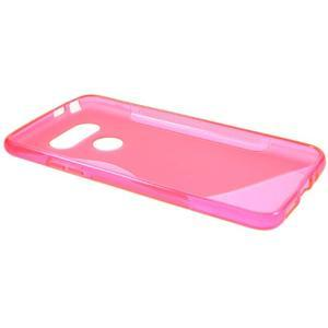 S-line gelový obal na mobil LG G5 - rose - 5