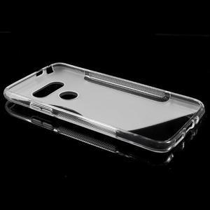S-line gelový obal na mobil LG G5 - transparentní - 5