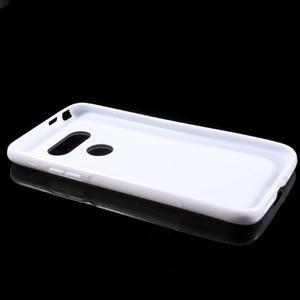 S-line gelový obal na mobil LG G5 - bílý - 5
