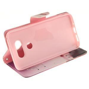 Obrázkové koženkové pouzdro na LG G5 - enjoy - 5